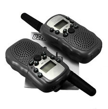 2 Pcs UHF Auto Scanning 2-Way Radio Wireless Walkie Talkie T-388 Free Postage