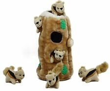 Outward Hound Plush Puppies HIDE A SQUIRREL Dog Puzzle Solving Toy GINORMOUS