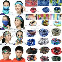 Multi Use Scarf Headband Mask Snood Bandana Cap Neck Warm Cycling Bicycle Sports
