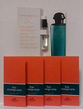 Eau d'Orange Verte d'Hermes Eau de Cologne lot de 5 Echantillons soit 10 ml