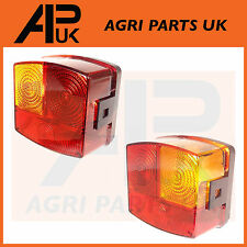 Pair of John Deere Rear Lights Lamps Tractor 1020,2020,1140,2140 etc Deutz DX3