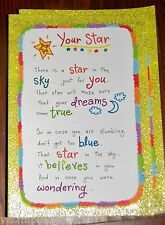 "Blue Mountain Arts Greeting Card ""There is a Star in the Sky for You"" B2GO SALE"
