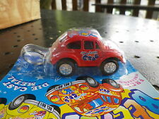 "VW COCCINELLE PORTE CLE LITTLE BEETLE KAFER "" LITTLE CRAB "" neuf blister scellé"