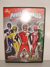 DVD POWER RANGERS SUPER POLICE DELTA EPISODES 6 A 10