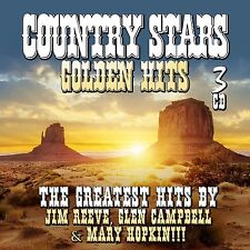 Country Stars -Golden Hits - Various Artists (3CDs) Jim Reeves, Glen Campbell, M