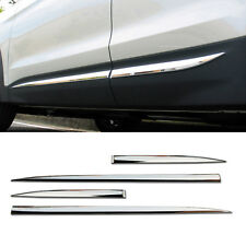 OEM Chrome Side Door Garnish Molding Trim 4P For HYUNDAI 2013-2017 Santa Fe DM
