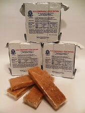 Emergency Food Rations LOT OF 12 / 3 Day 3600 Calorie Packs 108 meal bars Zombie
