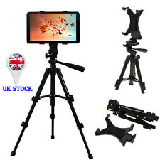 "Universal Adjustable 10"" Tablet Tripod Holder Stand For iPad 1 2 3 4 5 Air Mini"
