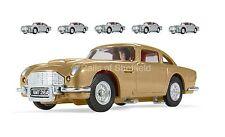 CORGI CC04206 BOX OF SIX JAMES BOND ASTON MARTIN DB5 CARS 1xGOLD/5xSILVER *NEW*