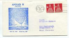 1969 Apollo 11 Pacific Splash Down Cape Canaveral FL West Germany Space Cover
