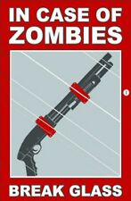 IN CASE OF ZOMBIE FUNNY SILLY JUMBO FRIDGE MAGNET GIFT BIRTHDAY FREE UK P&P NEW