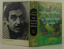 GABRIEL GARCIA MARQUEZ One Hundred Years of Solitude FIRST EDITION