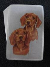 VINTAGE 1950's PACK DECK OF CONGRESS PLAYING CARDS - DACHSUND DOGS