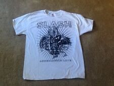 Slash Apocalyptic Love Shirt White Super rare sendaway design Miles Kennedy