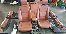 BMW X3 F25 LEATHER FRONT REAR SEATS INTERIOR DOORCARDS CENTRE CONSOLE