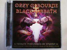 OZZY OSBOURNE BLACK SABBATH A TRIBUTE PERFORMED BY STUDIO 99 CD 13 TRK RARE OOP