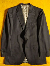 VINTAGE ~DARK BROWN ~MENS JACKET SPORT COAT BLAZER ~Size 38 39 40 R L ~ Chest 42