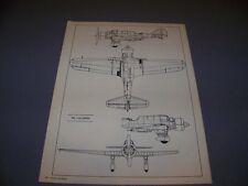 VINTAGE..PZL P-23 KARAS.... 5-VIEWS/DETAILS....RARE! (107b)
