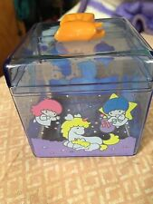 Sanrio Vintage Little Twin Stars Clear Box With Box Trinket Container