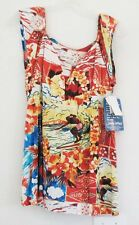 Jams World Womens Summer Surf Rayon Blouse Top W620 Sz S - NWT