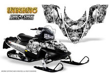 POLARIS SHIFT RMK DRAGON SNOWMOBILE SLED GRAPHICS KIT CREATORX WRAP INFERNO W