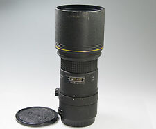Tokina AT-X AF 300mm f/4 Lens for Canon EF Good MF only w/sample image