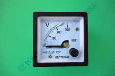 Champion Power CPE Diesel Gas Generator 120V 240V AC Panel Voltmeter Type C