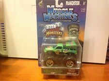 2003 Muscle Machines Monster Patrol Truck New in Box! Jam 1:64