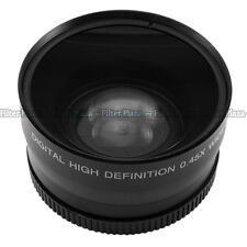 0.45x 58mm 58 mm macro conversion & wide angle Lens with 62mm front thread black