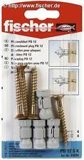 5 x FISCHER Dübel 33806 Hohlraumdübel PD 12 SK VPE = 4 Stück - NEU