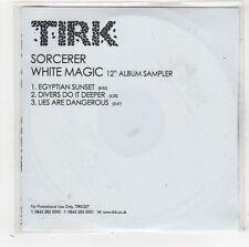 (FW392) Sorcerer, White Magic sampler - DJ CD