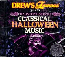 Drew's Famous HAUNTED HORRORS CLASSICAL HALLOWEEN MUSIC & SOUND EFFECTS CD! NEW!