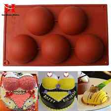 Silicone Kitchen 8cm Round Bread Cake Chocolate Mold Decoration Baking Pan