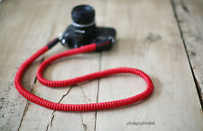 COOL red 16mm Hand knit Chinese knot handmade Camera neck strap Generic SLR/DSLR
