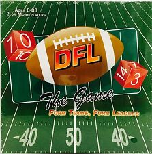 New BOARD GAME [ DFL THE GAME] DICE FOOTBALL LEAGUE (Form Teams / Form League)
