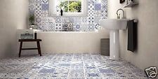 DUTCH PATCHWORK ENCAUSTIC EFFECT PORCELAIN WALL & FLOOR TILES RRP £59.95