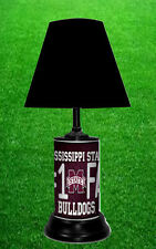 MISSISSIPPI STATE BULLDOGS - NCAA LICENSE PLATE LAMP - FREE SHIPPING IN USA