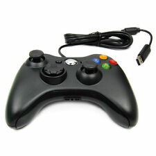 Black USB Wired Game Controller Game Pad For Microsoft Xbox 360