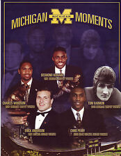 Michigan Moments Hiesman Trophy or 1989 Basketball Champions Choice of 3 3/17