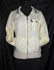 EUC! CONVERSE by John Varvatos Light Casual Jacket Track Ivory M S Athletic