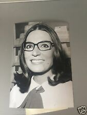 NANA MOUSKOURI  - PHOTO DE PRESSE ORIGINALE  18x13cm