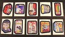 "2013 Topps Wacky Packages ANS10 Series 10 ""AS SCREAMED ON TV"" SET of 10 nm+"