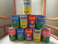 10 Limited Edition Andy Warhol 50th Anniversary 2012 Target Campbell's Soup Cans