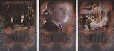 """Buffy 10th Anniversary - """"Leader of Slayers"""" Set of 3 Chase Cards L1-3"""