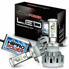 H13 80W 6000K CREE XM-L2 LED HEADLIGHT BULBS FITS 2004 2005-2012 NISSAN SENTRA