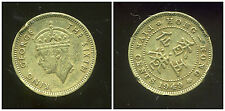 HONG KONG 5 cents five 1949  ( 2 )