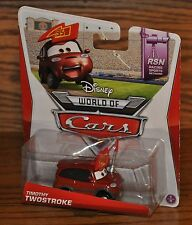 2014 Disney World of Cars Die Cast RSN Timothy Twostroke #1 of 8 NEW