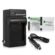 2x NB-11L NB11LH Battery +Charger for Canon PowerShot SX410 SX400 IS ELPH 350 HS
