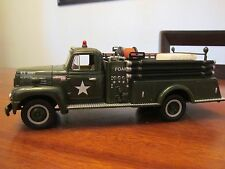 First Gear 1957 R-190 Int'l US Army Closed Cab Fire Truck 19-1389