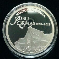 Willie: 2010 Malaysia Museum Silver Proof with cert and box